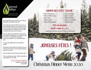A Catered Affair Menu 2020 Family Christmas Dinner 2