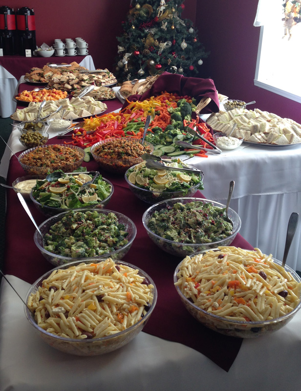 gourmet-cold-buffet-quinoa-salad-greek-pasta-salad-a-catered-affair-by-tim-mcrae-2