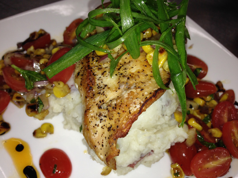 grilled-chicken-with-charred-corn-salsa-balsamic-reduction-and-paprika-oil-a-catered-affair-by-tim-mcrae-2-2