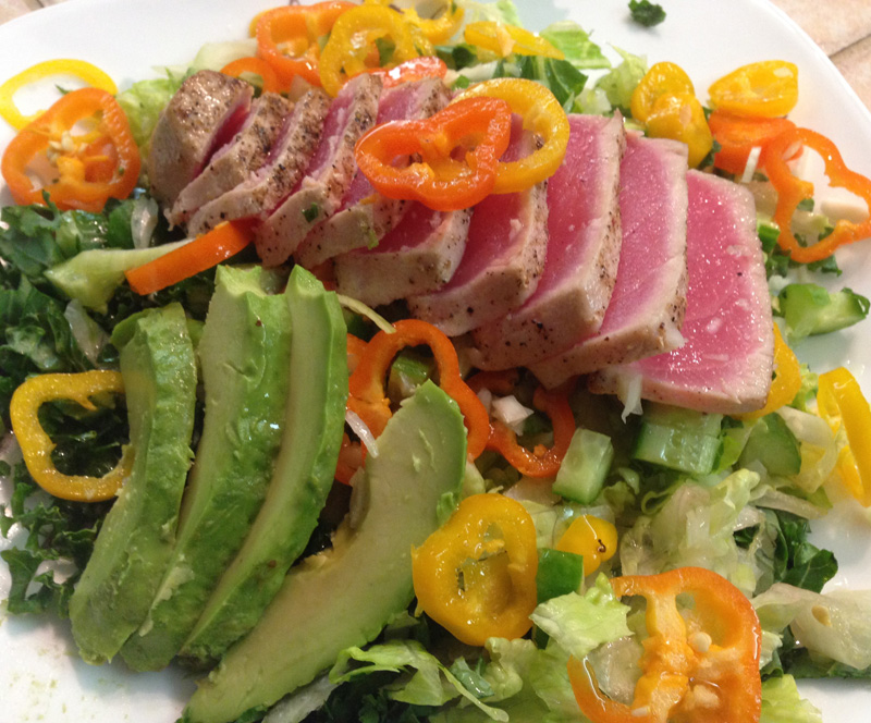tuna-and-avocado-salad-gourmet-salad-a-catered-affair-by-tim-mcrae-2